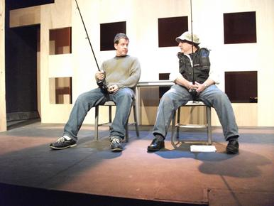 Daniel Damiano and Gerry Goodstein in Interchange
