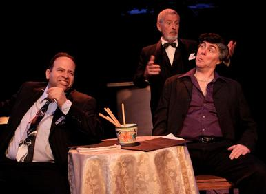 """Bob Manus, Fred Velde & Richard Kent Green in """"My Dinner With Rocco"""""""