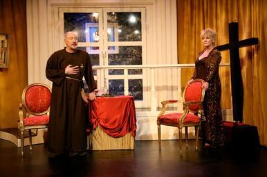 Charles E. Gerber & Ellen Dolan in Molière's Tartuffe