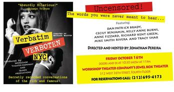 Verbatim Verboten at the WorkShop