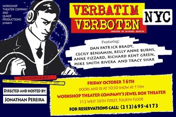 The WorkShop's Verbatim Verboten
