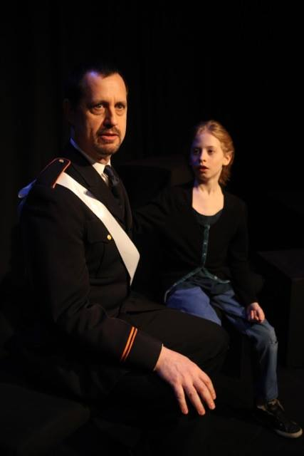 Ethan Cadoff and Clark Loeffler in The Winter's Tale