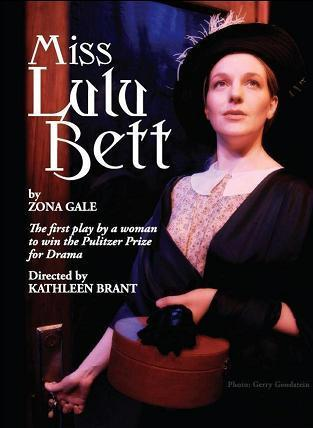 Laurie Schroder as Miss Lulu Bett, in the Pulitzer Prize-winning drama of the same name, by Zona Gale, directed by Kathleen Brant, at the WorkShop Theater Company, in March-April of 2010.